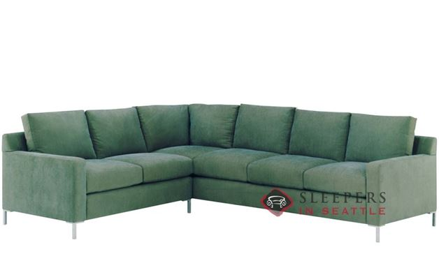 Lazar Soho True Sectional with 3-Cushion Sleeper (Queen)