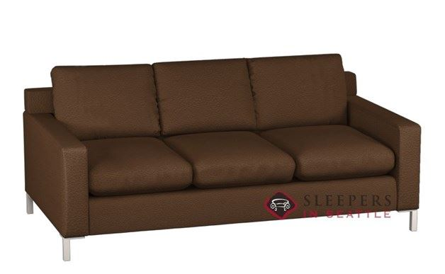 Lazar Industries Soho 3-Cushion Leather Sleeper (Queen)