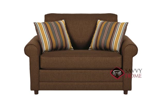 The 202 Loveseat by Stanton in Stoked Chocolate