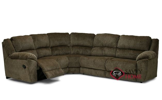 Benson Reclining True Sectional Sofa by Palliser--Power Upgrade Available