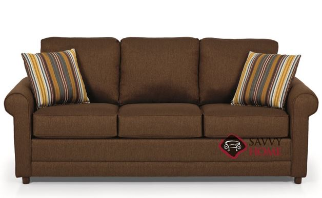 The 202 Sofa by Stanton in Stoked Chocolate