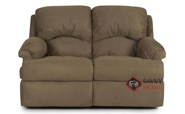 Milan Reclining Leather Loveseat