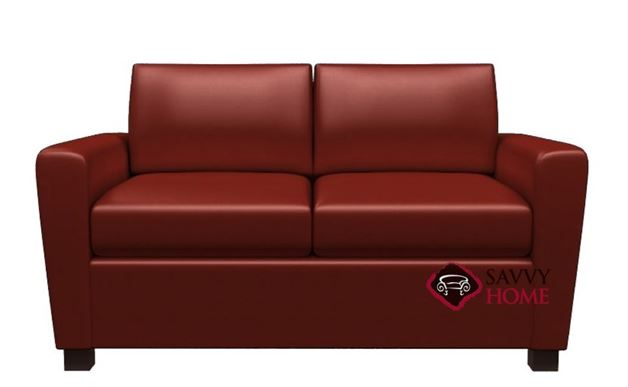 Harmony Leather Loveseat by Lazar Industries