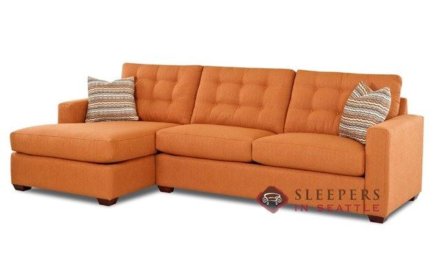 Savvy Liverpool Chaise Sectional Sleeper