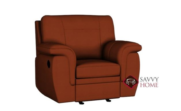 Daley Rocking and Reclining Leather Chair by Palliser