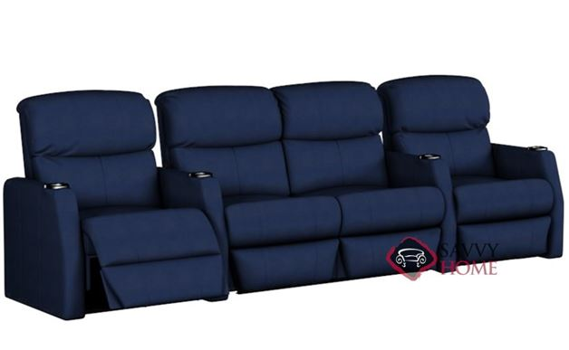 Atlantis 4-Seat Reclining Home Theater Seating with Loveseat (Straight)