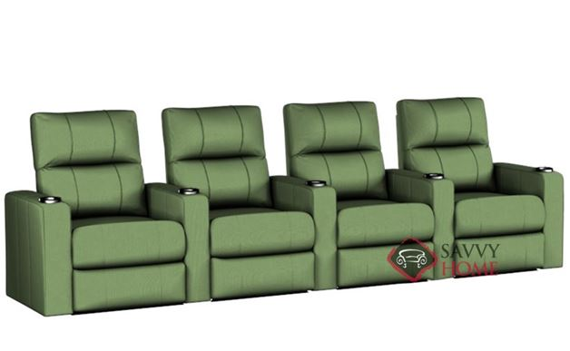 Springfield 4-Seat Reclining Home Theater Seating (Straight)