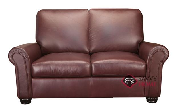 Charter Leather Loveseat