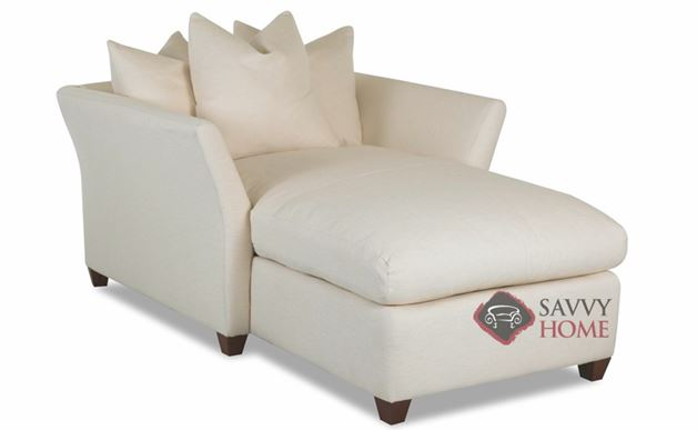 Fulham Chaise Lounge with Down-Blend Cushions by Savvy