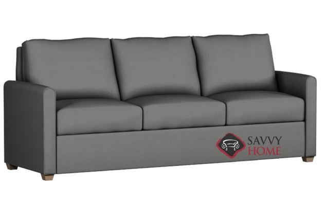 Somerset Paragon King Leather Sleeper by Lazar Industries
