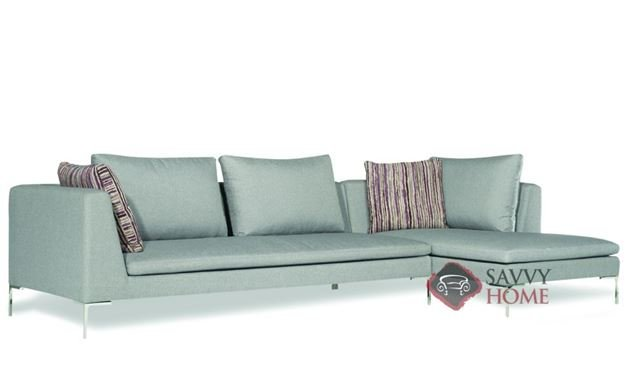 Pesaro Chaise Sectional by Lazar Industries