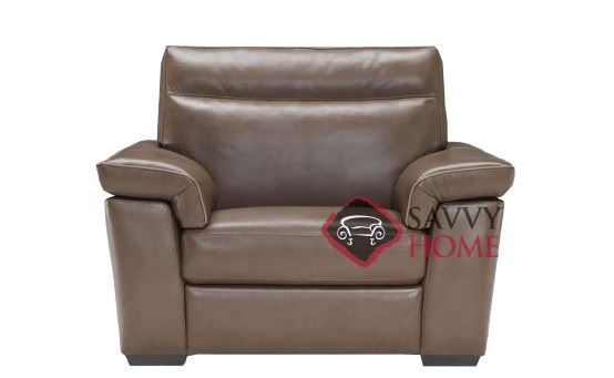 Cervo (B757-048) Leather Big Chair Natuzzi Editions