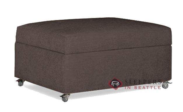 Lazar Industries Pelham Paragon Ottoman Sleeper in Scan Chocolate (Twin)