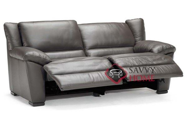 natuzzi italian leather sofa reviews sale corner for reclining seat open