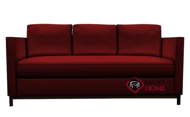 York Leather Condo Sofa by Lazar Industries