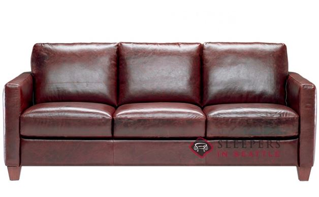 Natuzzi B591 Leather Sleeper (Queen)