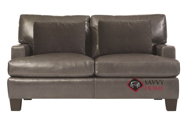Denton Leather Loveseat by Bernhardt Interiors