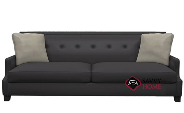 Franco Leather Sofa by Bernhardt Interiors