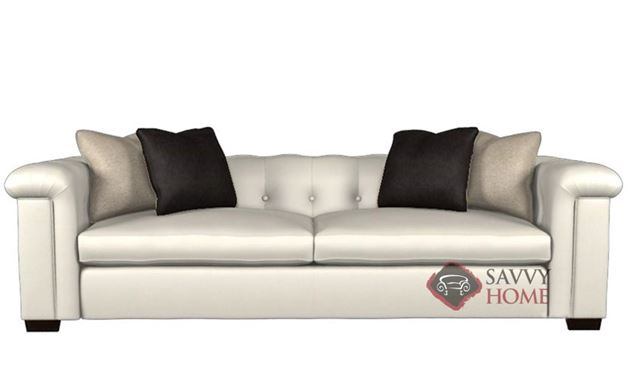 Townhouse Leather Large Sofa by Bernhardt Interiors