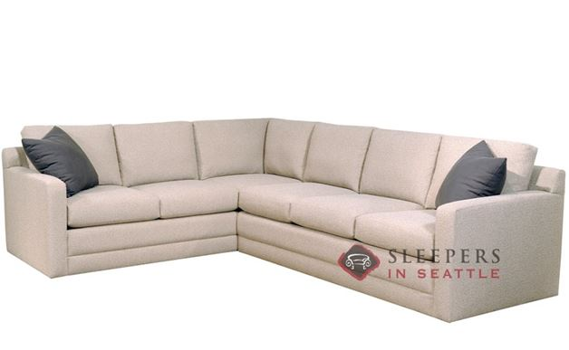 Broadway True Sectional Queen Sleeper Sofa by Lazar Industries