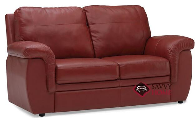 Brunswick Full Leather Sleeper Sofa by Palliser