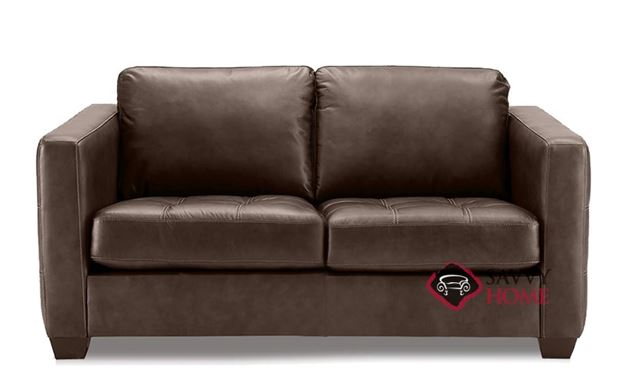 Barrett Leather Loveseat by Palliser