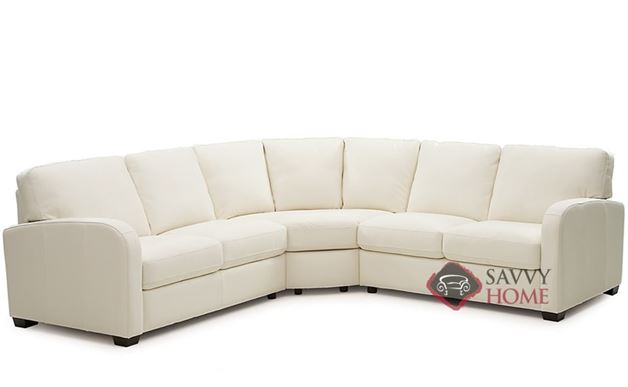 Westside Leather True Sectional Sofa by Palliser
