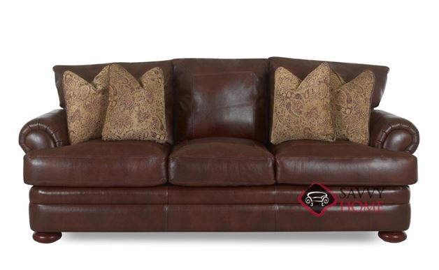 Montezuma Leather Studio Sofa