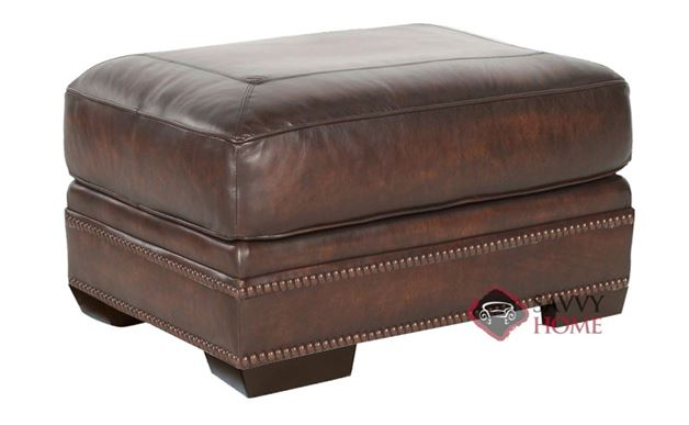 Grandview Leather Ottoman by Bernhardt in 229-022