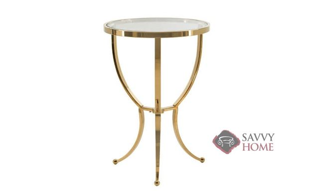 Adella Round Chairside Table by Bernhardt Interiors