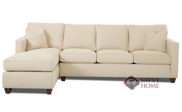 Jersey Large Chaise Sectional Sofa by Savvy