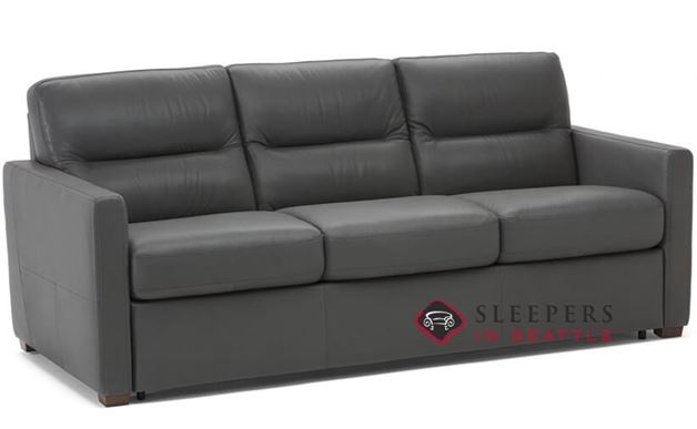 Natuzzi Editions Conca Leather Sleeper Sofa (Queen) (C010-530)