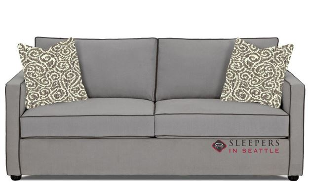 Savvy Portland Sleeper Sofa in Brookside Grey