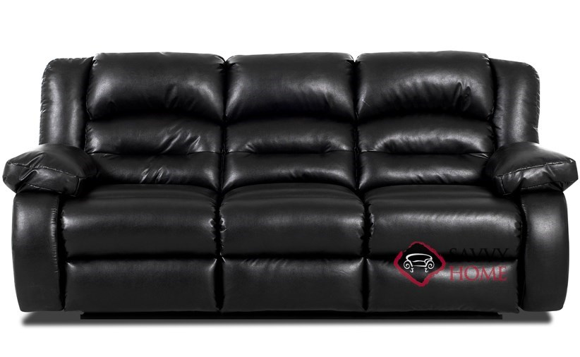augusta reclining leather sofa - Reclining Leather Sofa