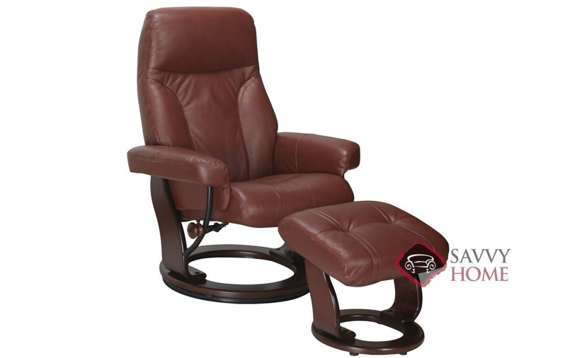 Quick Ship Milano Leather Chair In Top Grain Black Leather