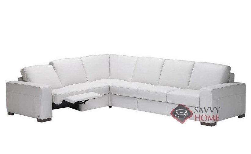 Corno A397 Leather True Sectional By Natuzzi Is Fully Customizable By You