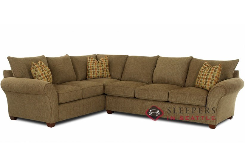Flagstaff True Sectional Sleeper Sofa by Savvy