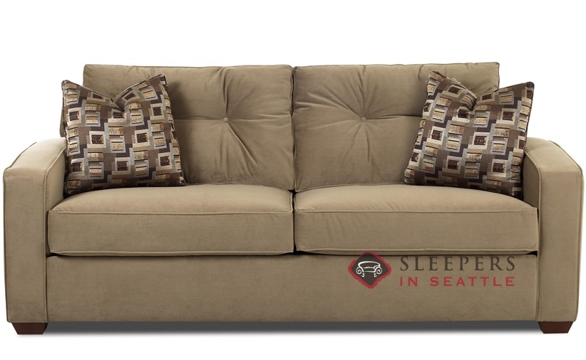 Aspen Queen Sleeper Sofa by Savvy