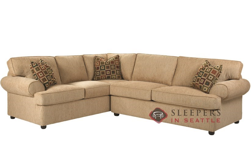 Customize and personalize tacoma true sectional fabric Sleeper sofa sectional