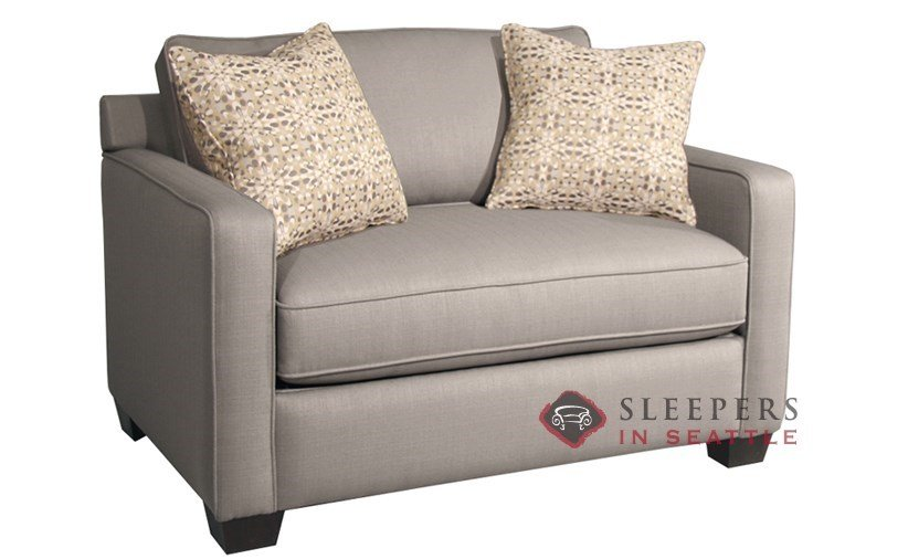 Customize and Personalize Parker Twin Fabric Sofa by Fairmont – Twin Sofa Sleeper