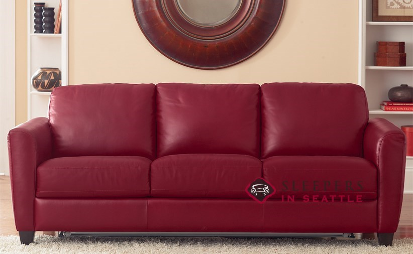 customize and personalize liro  b592  queen leather sofa by natuzzi