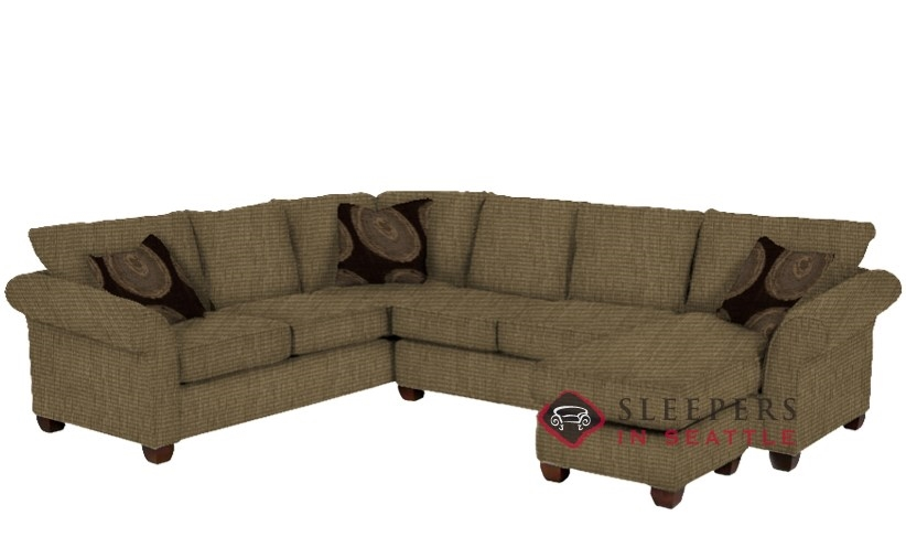 Customize And Personalize 664 True Sectional Fabric Sofa