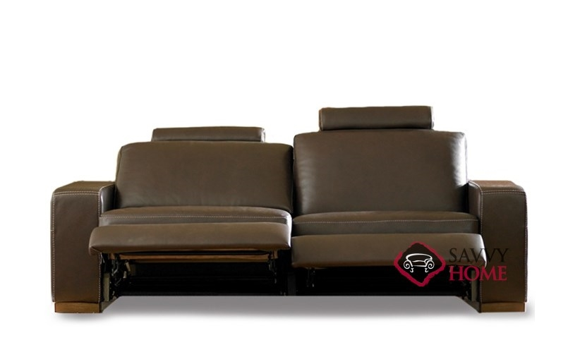 Power Reclining Sofa Leather Images Dual