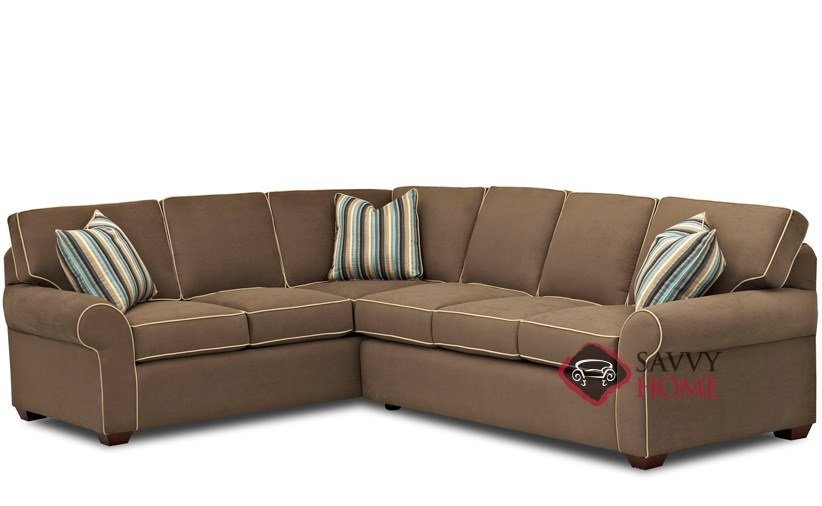 seattle fabric true sectional by savvy is fully With sectional sleeper sofa seattle