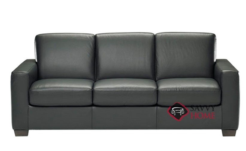 leather sofa shown black natuzzi sectional and loveseat sale