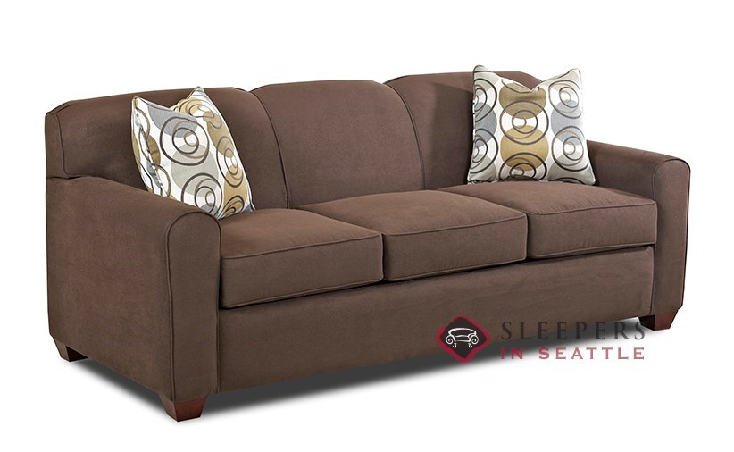 Customize and personalize zurich queen fabric sofa by for Sofa bed zurich