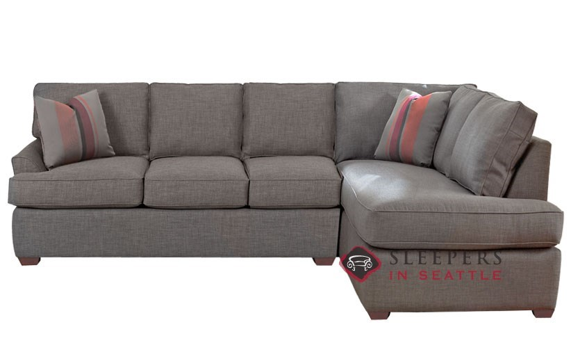 Customize and personalize gold coast chaise sectional Sleeper sofa sectional