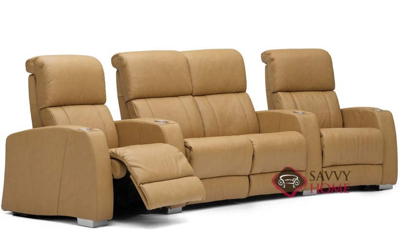 Hifi leather sofa by palliser is fully customizable by you Loveseat theater seating