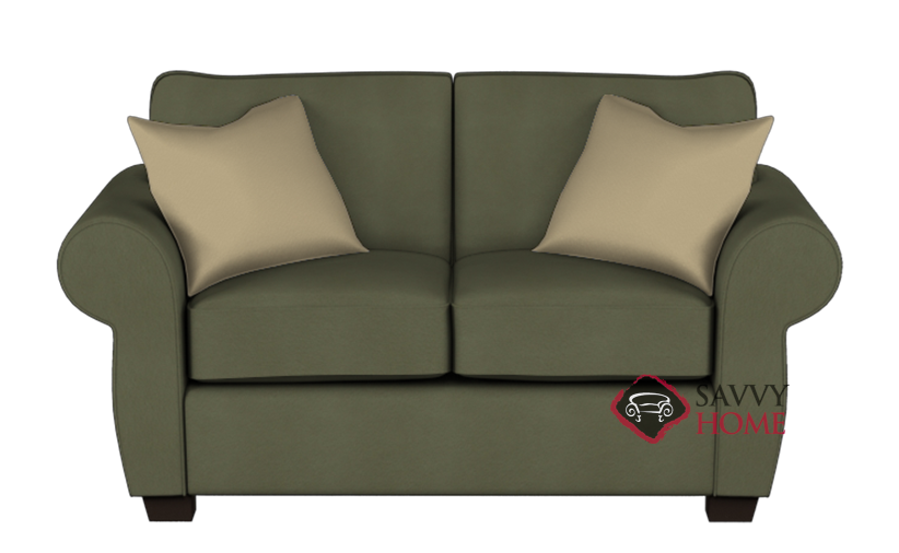 154 fabric loveseat by stanton is fully customizable by for Bella berry chaise