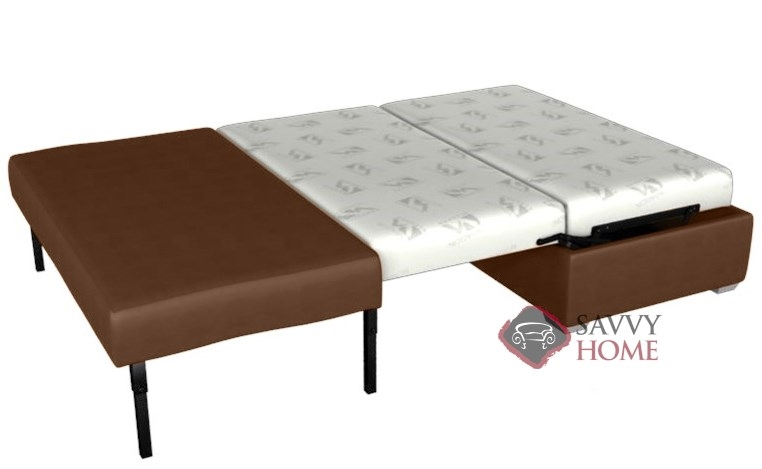 Darby Leather Ottoman Sleeper by Lazar Industries is Fully  : File635429602562408262 SH from www.savvyhomestore.com size 762 x 469 jpeg 65kB